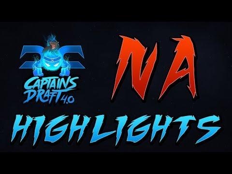 Dota 2 NA Qualifier Highlights - Captains Draft 4.0