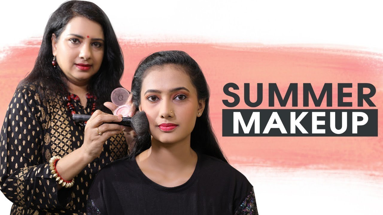 Simple Makeup for Office & Party Going Women!  Summercare