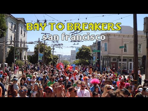 NAKED PPL MARATHON // MOVE TO SAN FRANCISCO || HOW TO BAY TO BREAKERS San Francisco 2017