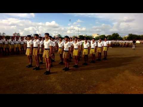 Drill CIAT SCHOOL SHIVPURI CRPF RT