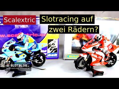 Scalextric MotoGP Slot-Motorrad – Slotracing auf zwei Rädern
