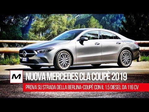 Nuova Mercedes CLA 2019   Prova su strada del 1.500 da 116 Cv