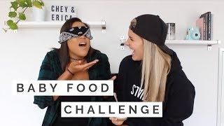 BABY FOOD CHALLENGE *GROSS*