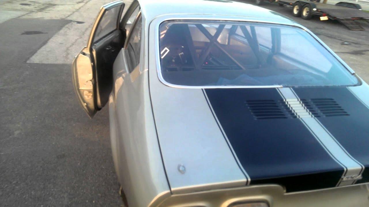 1973 Chevy Vega race car - YouTube