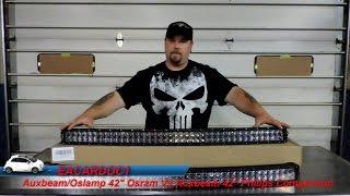 auxbeam 3 watt osram leds vs 3 watt philips leds in 42 inch curved 4d light bars