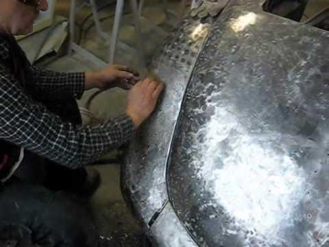 Car Body Repair Metal Shaping Body Beating Car Body