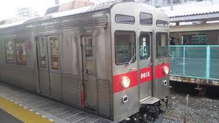 東急8500系(8615F)、久喜駅発車