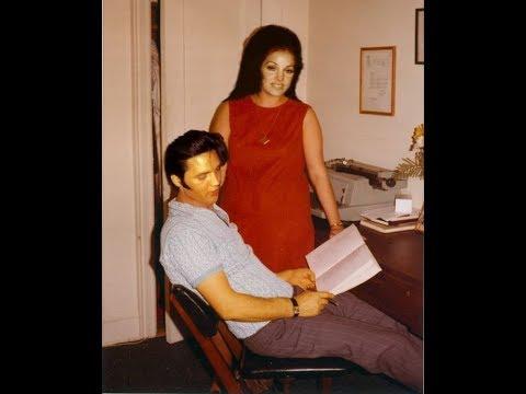 Priscilla Presley and Elvis 60s