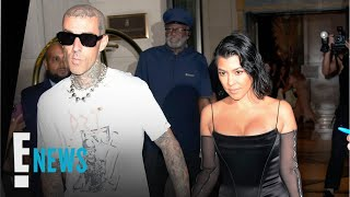 Kourtney Kardashian & Travis Barker Spotted After Engagement | E! News
