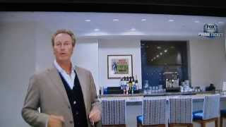 Steve Lyons tour of the new Dodger Owner's Suite with Christian Haupt