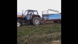 Obowiązki młodego rolnika #67 - Rozrzucanie obornika ursus 1222 vs rozrzutnik z ładownością 8t