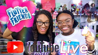 YouTube LIVE with The Froggys   Flutter Friends   Q&A   Fan Mail
