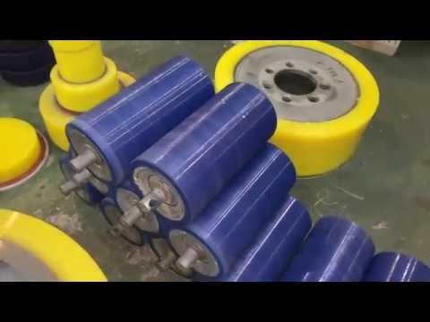 Конвейерные ролики с полиуретановым покрытием