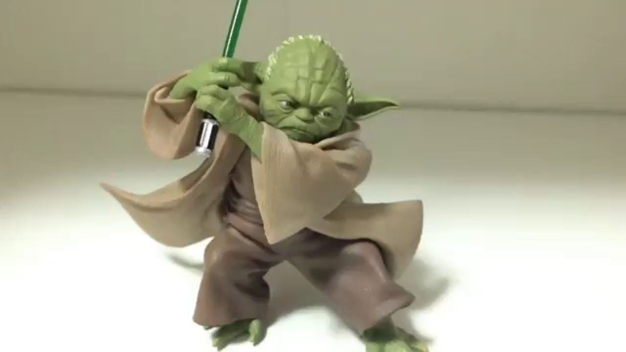 star wars jedi master yoda sega 1 10 scale premium figure. Black Bedroom Furniture Sets. Home Design Ideas