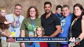 Slain WyCo deputy already a superhero to family