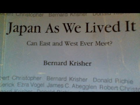 Mr Bernard Krisher interviews