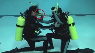NOAA Diver: Check Out Skills Part 7 - Alternate Air Source to the Surface