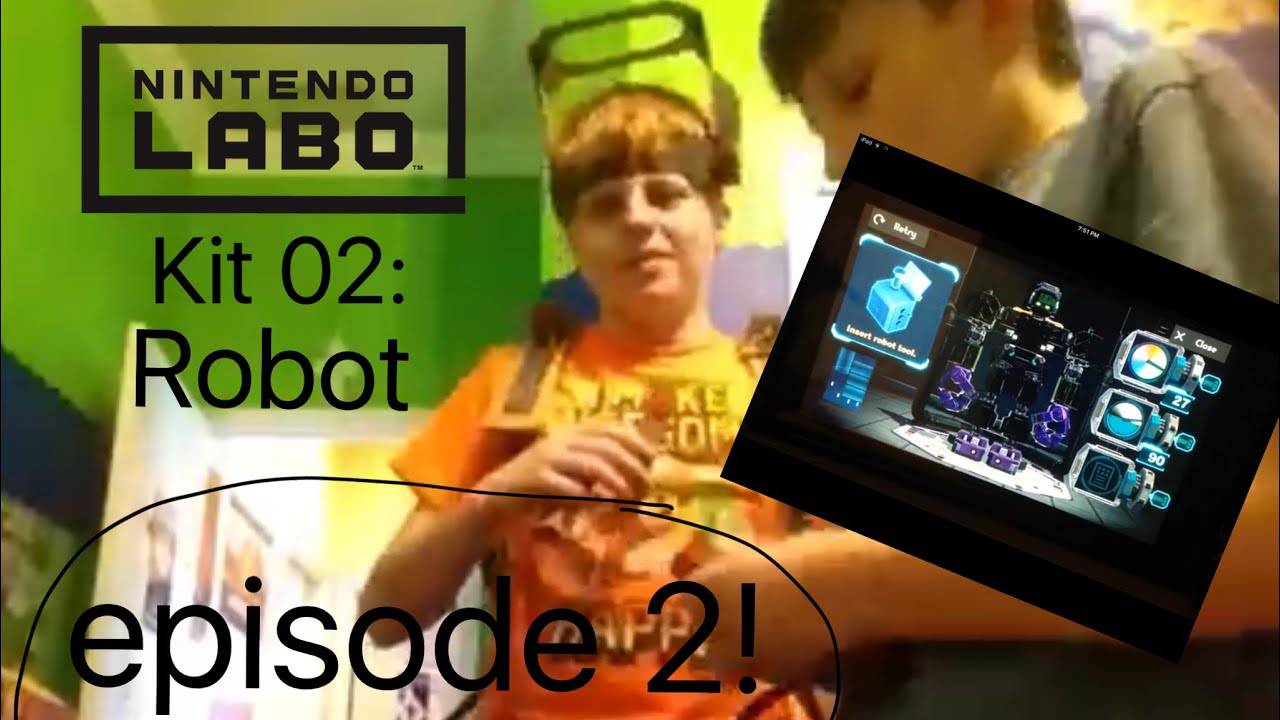 Hangar En Kit Bois labo kit 02: robot episode 2: robo-hangar