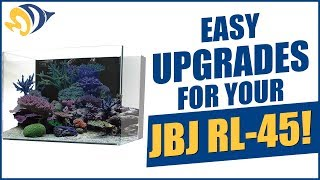 Tank Hacks: Easy Upgrades for Your JBJ RL-45 Rimless Aquarium