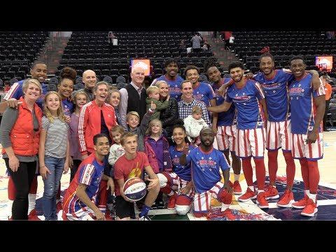 Harlem Globetrotter Basketball GAME!!