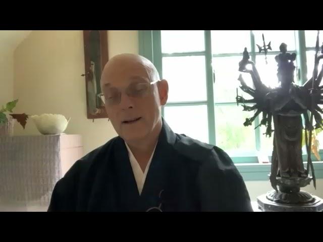 Bodhidharma's Wake Up Sermon Part II– Golden Wind Sesshin Dharma talk by Hokuto Sensei, 2021.9.25