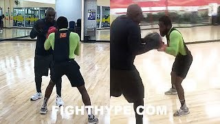 ADRIEN BRONER LATE-NIGHT TRAINING SESSION 6 DAYS BEFORE MIKEY GARCIA CLASH; CLOSES OUT CAMP STRONG