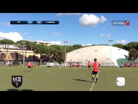 W3 Roma Team 1 - 0 Castelli Romani | 1^ Categoria - 2^ | Highlights