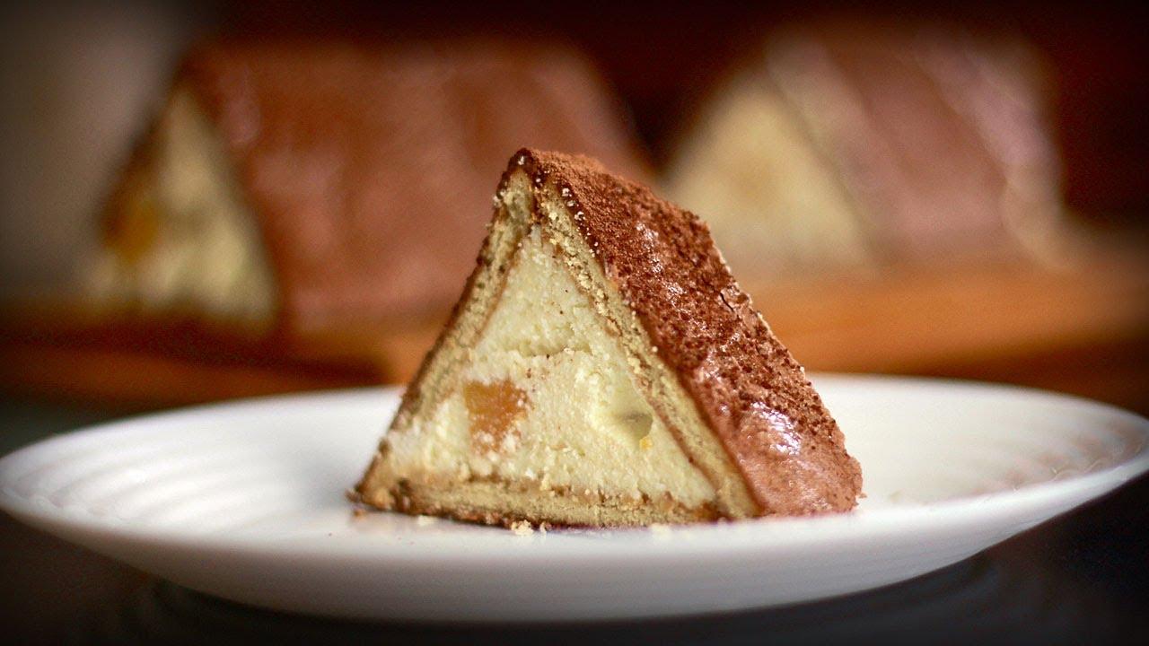 """Торт """"Творожный домик"""" на скорую руку"""