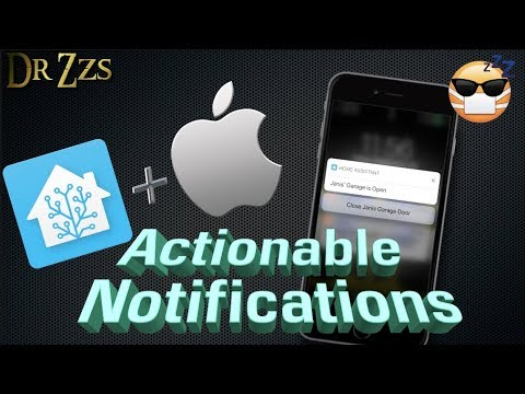Have Home Assistant send Clickable Notifications to your iPhone!