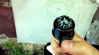 Обзор распаковка Велосипедный звонок компас