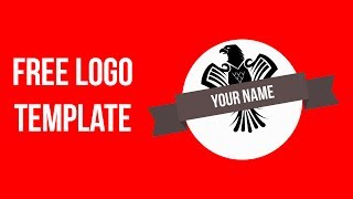 Free Logo Template | photoshop 2017