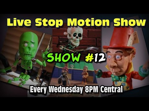 Live Stop Motion Podcast #12 Online Animation Classes