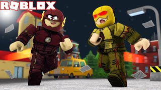 FLASH VS FLASH REVERSO NO ROBLOX - Marvel & Dc Dawn Of Heroes