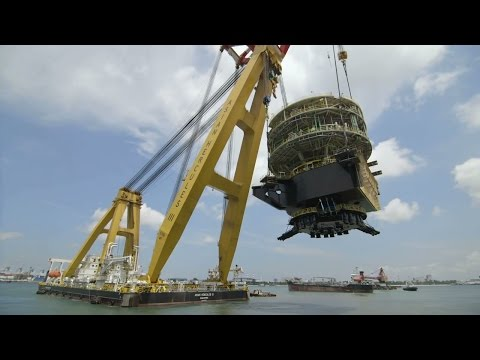 Tullow TEN Project Turret Lift