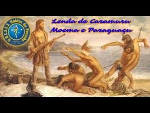 A história e lenda de Caramuru e Paraguaçu - Peruche é Salvador!