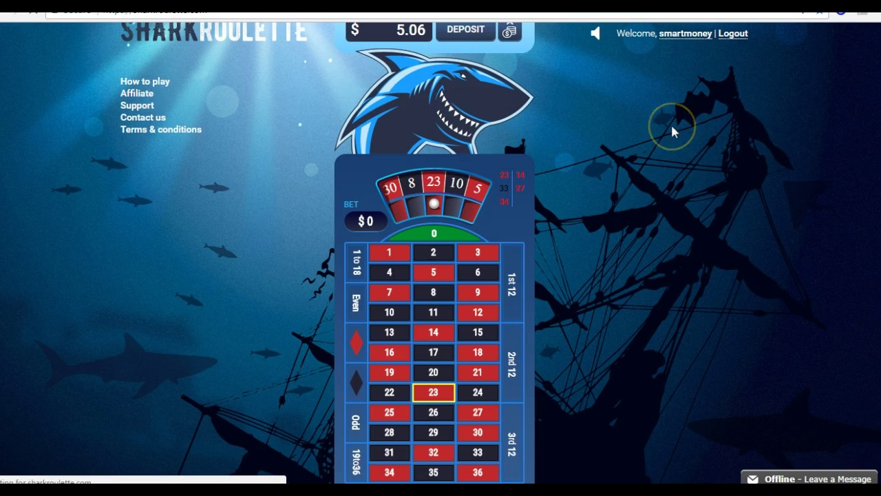 Best Roulette Strategy To Win 2017 - SHARKROULETTE - YouTube