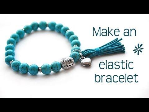 Make A Stretch Elastic Bracelet - Best Tips!