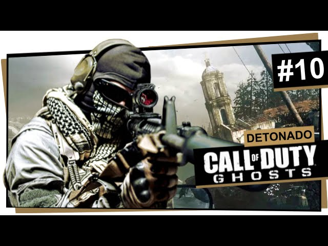 Call of Duty Ghosts #10 - Clockwork (Dublado em Português)