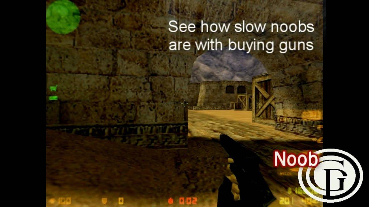 Counter-Strike 1.6 | getPRO | Pro vs. Noob - YouTube