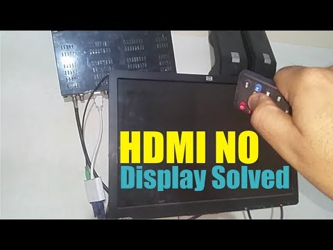 Hdmi To Vga No Signal Display Fix On China Dish Receivers By Vocal Of Amir