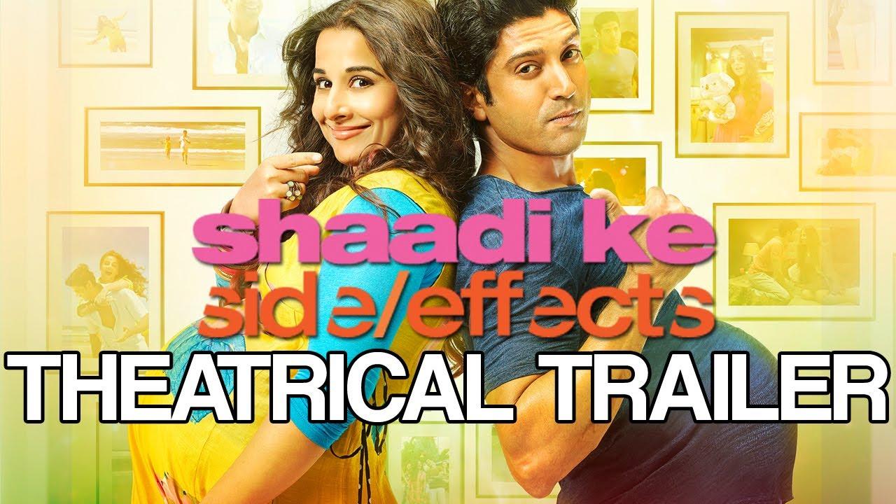 Shaadi Ke Side Effects | Theatrical Trailer ft. Farhan Akhtar & Vidya Balan