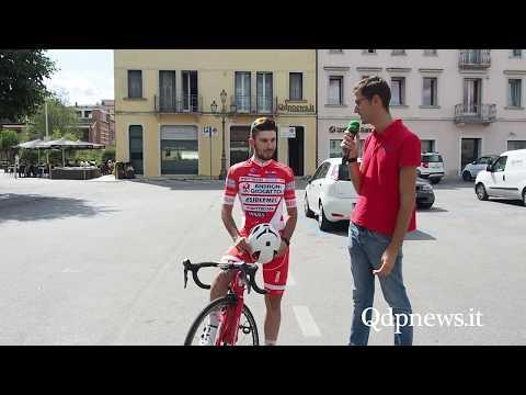 Pieve di Soligo - Intervista al ciclista professionista Andrea Vendrame di Santa Lucia