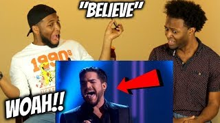 "This Beautiful Rendition Of Cher's ""Believe"" Is Adam Lambert's Gift To Us All (CRYING!!) REACTION"