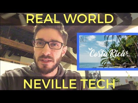 NEVILLE TECH: Manifesting A Trip to Costa Rica - Part 1 - [VLOG]