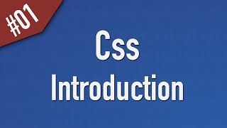 Learn Css in Arabic #01 - Introduction
