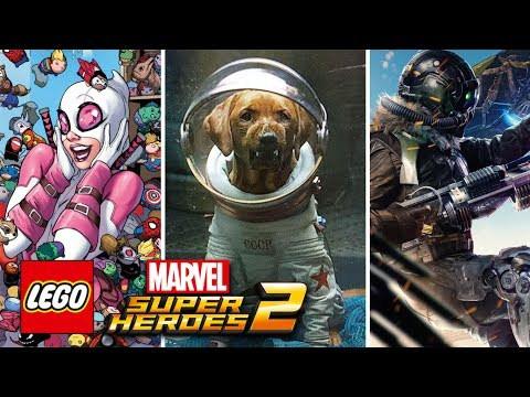 LEGO Marvel Super Heroes 2 - Spider-Man: Homecoming Vulture, Gwenpool, Cosmo And Throg Confirmed!