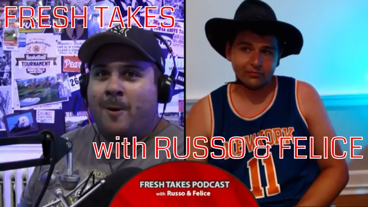 FRESH TAKES W/ RUSSO & FELICE: The NFL is back, State Fair recap & Fall TV line-up (podcast)