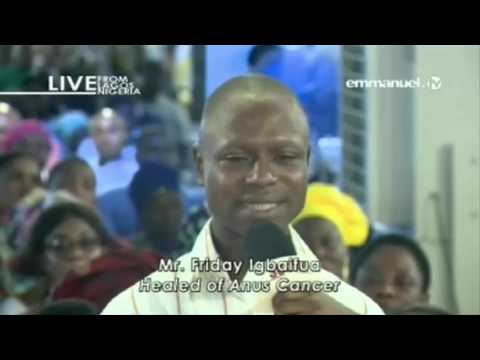 SCOAN 14/05/17: Man Healed Of ANUS CANCER : What God Alone Can Do!