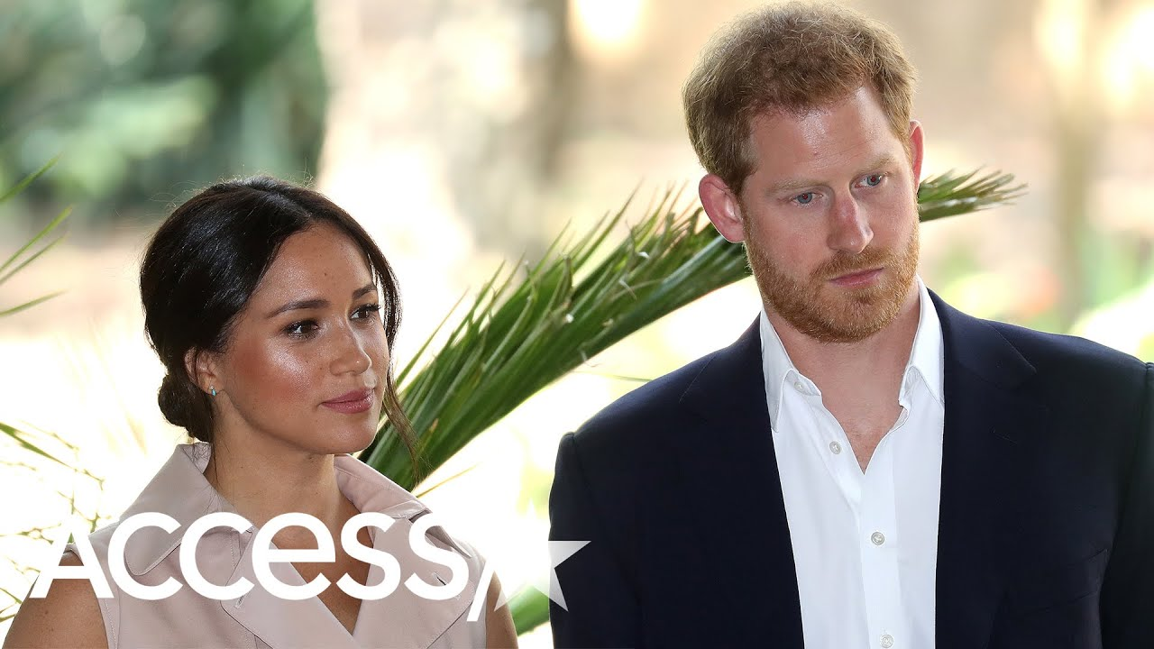 Download Is The Royal Family Giving Meghan Markle & Prince Harry The Cold Shoulder?