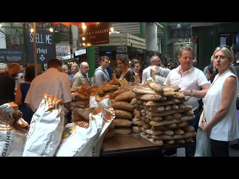 London Street Food, Borough Market Street Food, Food in London